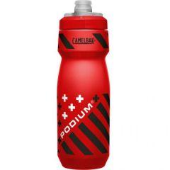 CamelBak bidon Podium+ Bottle 0,71l, Red Stripes/Rdeča-črte